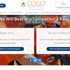 Cogo Capital - hard money lender - LoanNEXXUS
